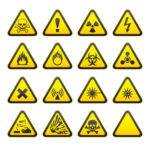 CHIP hazard symbols